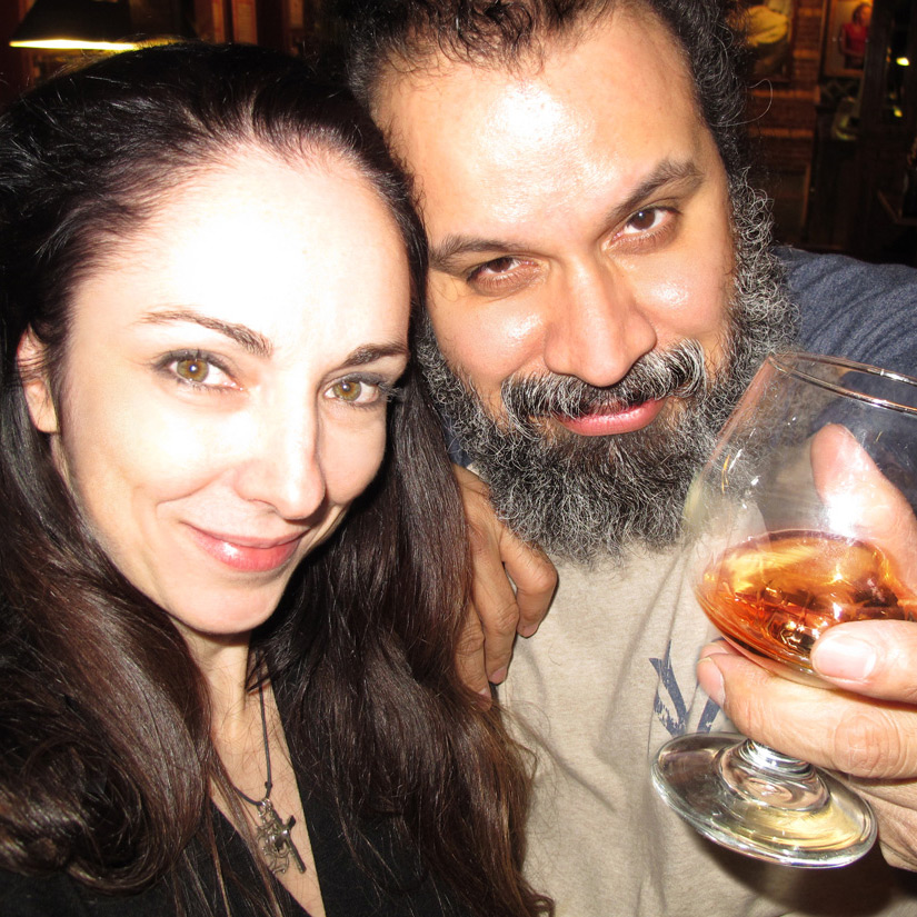 Marie Flaherty and William Fuentes Scotch Feb2015