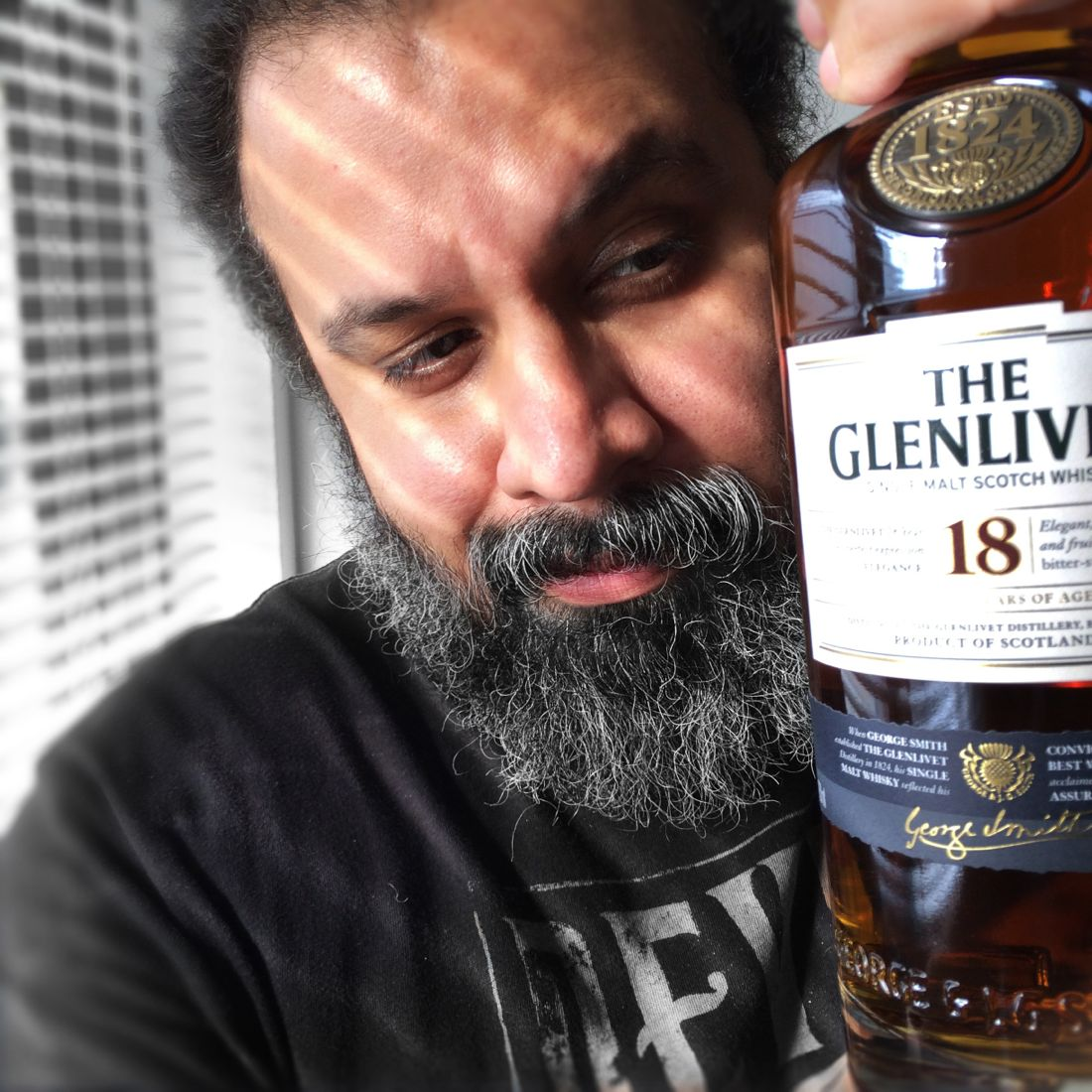 William Fuentes The Glenlivet 18