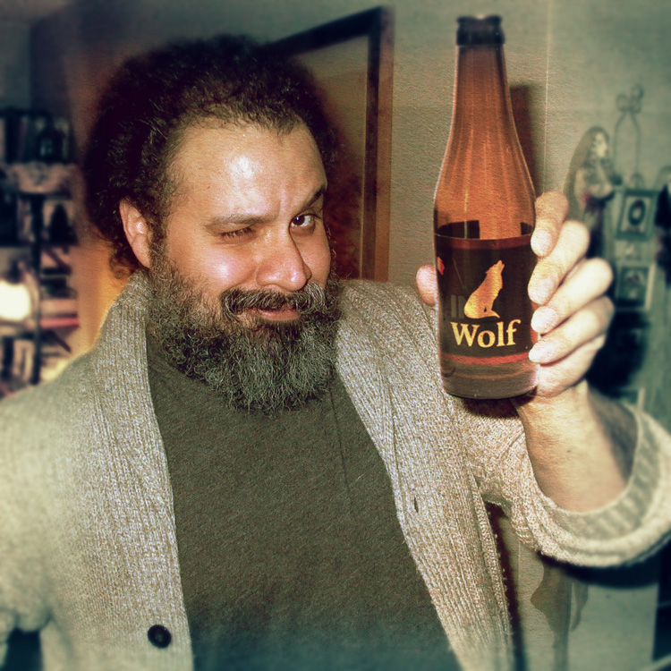 William Fuentes Wolf Beer 2014
